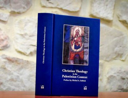 A new book on the Palestinian context theology.