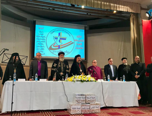 Fr Rafic: The Council of Churches of Egypt backs Christian unity and dialogue with Muslims.