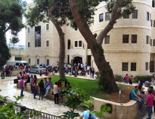PALESTINE – Crisis at the University of Bethlehem. Negotiations with students continue.