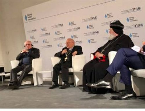 MIDDLE EAST – Patriarchs at the summit in Munich: the West is jointly responsible for Middle Eastern conflicts.