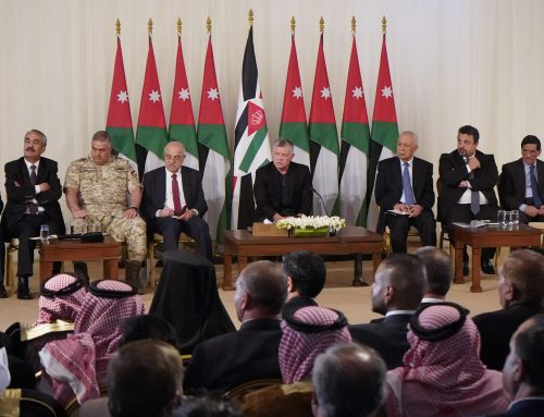 Jordan- King: Jerusalem is a red line, my position on it is unwavering and all my people are with me.