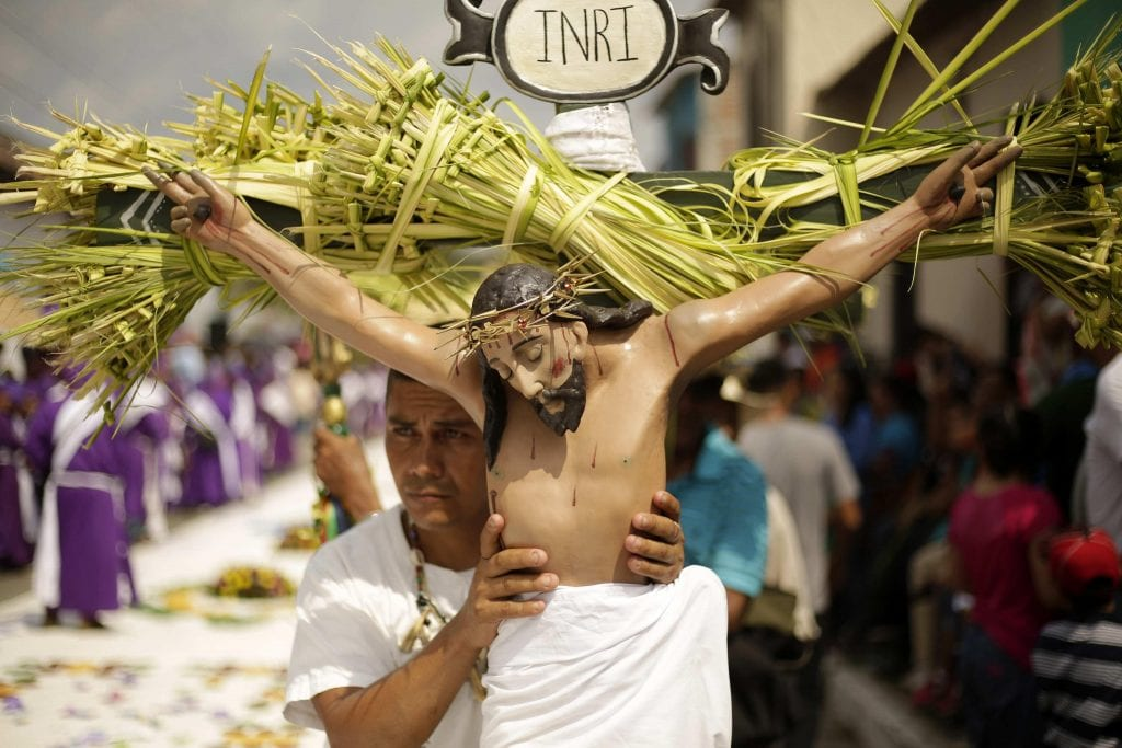On Palm Sunday, Jerusalem becomes a metaphor for the whole world.