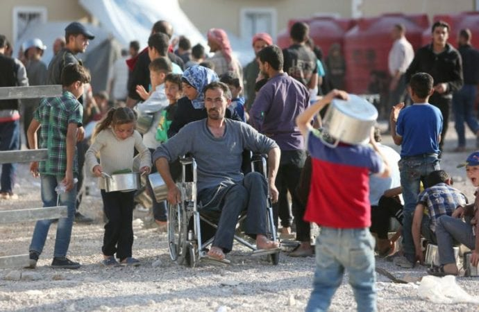 Caritas Syria: Air strikes reopened wounds, but agency still able to help.