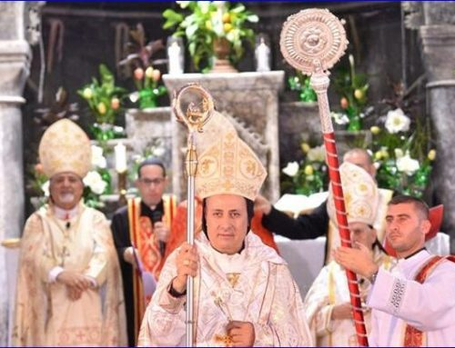 New Syriac Catholic Bishop Hopes Christianity Will Thrive Again in Iraq.