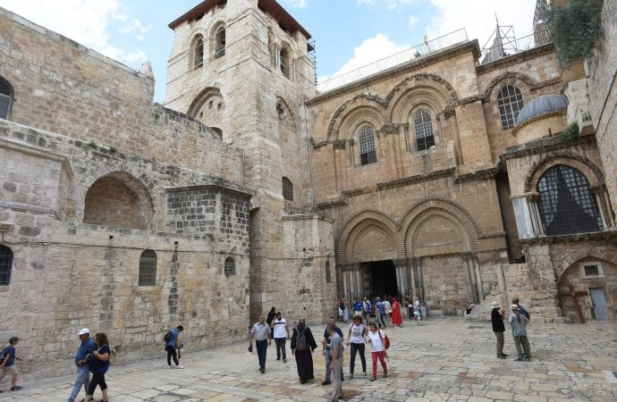 Three churches agree to more renovations at Church of the Holy Sepulcher.