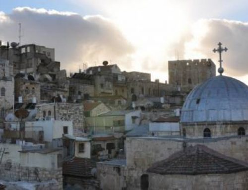 Heads of the Churches of Jerusalem: Ateret Cohanim's real estate operations in the Old City threaten coexistence among monotheistic faiths.
