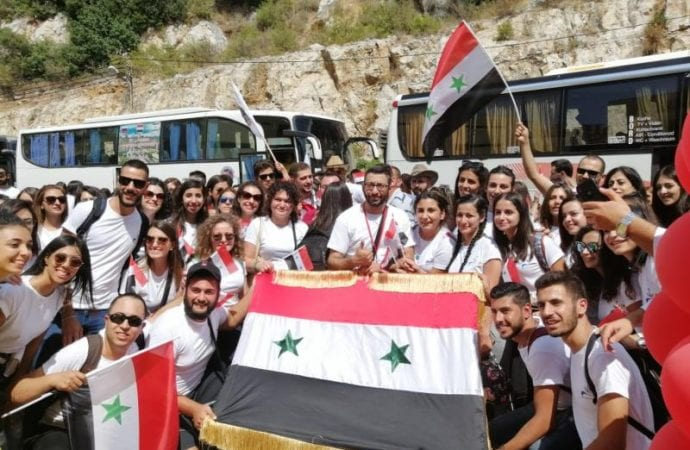 Melkite Catholic young adults in Middle East find hope at gathering.