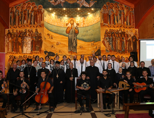 Our Lady of the Holy Valley Choir concludes visit to Jordan.