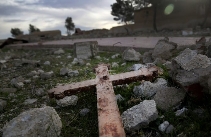 Report: Over 120 churches damaged by war in Syria since 2011.