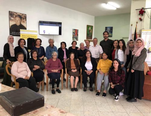 Medical checkup for Elders at Birzeit social Development and Cultural (BSCC).