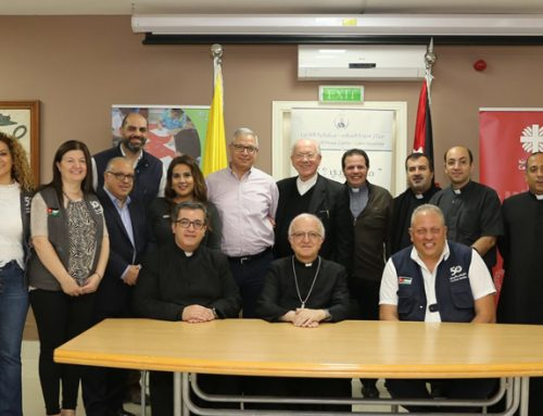Jordan: Latin Patriarchate Schools sign 12 cooperation agreements with Caritas Jordan benefiting Syrian refugees.