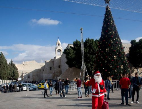 Israel bars Gaza's Christians from visiting Bethlehem and Jerusalem at Christmas.