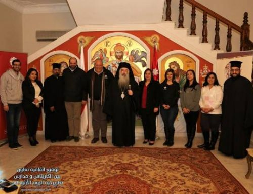 Caritas Jordan, schools of Greek Orthodox Patriarchate sign partnership agreement.
