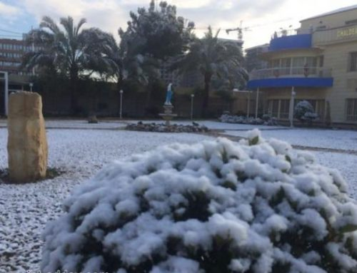 Chaldean patriarchate hope snow in Baghdad may purify Iraqis' hearts.