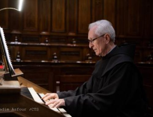 The story of Fr. Fergus, organist at St Saviour and the Holy Sepulchre.
