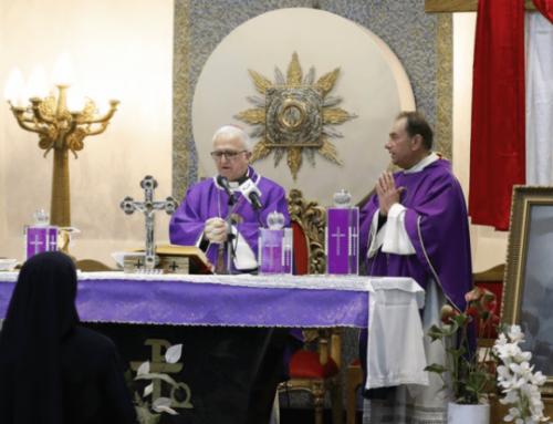 Bishop Shomali hopes to transform homes into home churches.