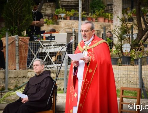 Palm Sunday 2020: Message of Archbishop Pierbattista Pizzaballa.
