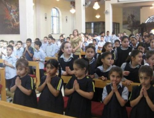 Order of Holy Sepulchre launches support fund for families and Latin Patriarchate Schools in Holy Land.