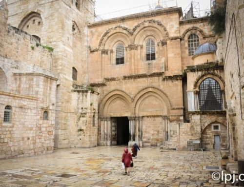 Church of Holy Sepulchre reopens to faithful under safety guidelines.
