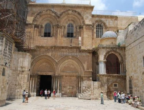 BREAKING NEWS: Church of the Holy Sepulcher to open Sunday, May 24.