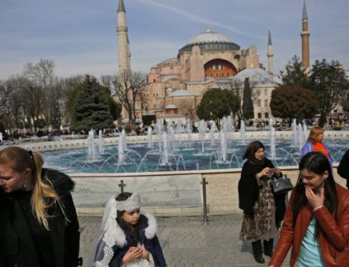 Museum or mosque? Turkey debates iconic Hagia Sofia's status.