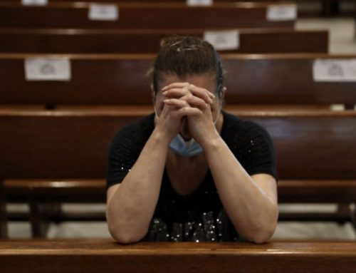 Lebanon priests recount horror as blast rocked church.
