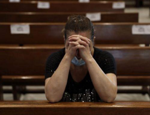 Lebanon priests recount horror as blast rocked church.