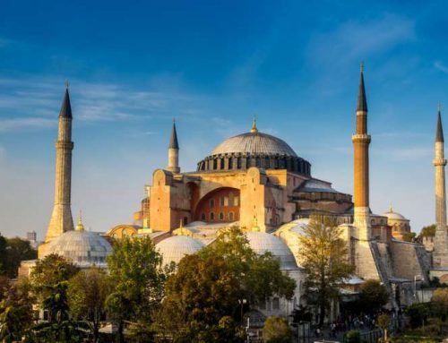 Syrian government to build replica of Hagia Sophia.