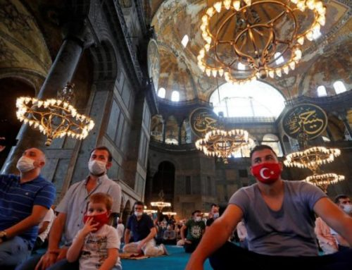 Some Christians see Turkey's Hagia Sophia move as attempt to expand Islam.
