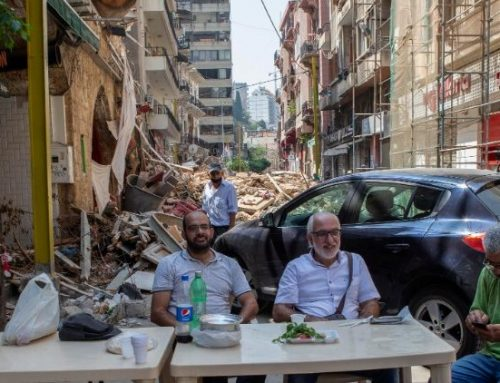 Order of Malta in Beirut: a heartbroken city in an ever-wounded country.