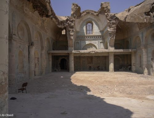 Work begins on rebuilding Al-Tahera Syriac Catholic Church in the old city of Mosul.