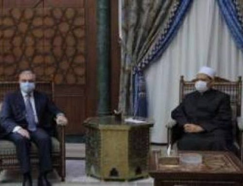 EGYPT – Grand Imam of al Azhar: Islam and Christianity have never been at the root of wars