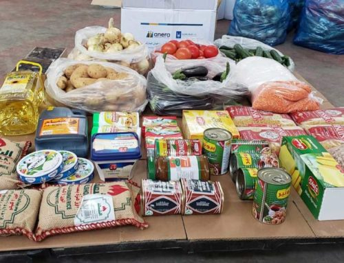 Food packages bring ray of hope to Beirut.