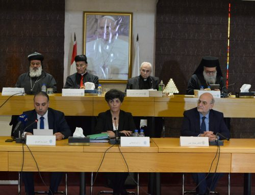 Executive Committee Meeting for the Middle East Council of Churches in solidarity with Beirut and prays for those affected by the Coronavirus pandemic.