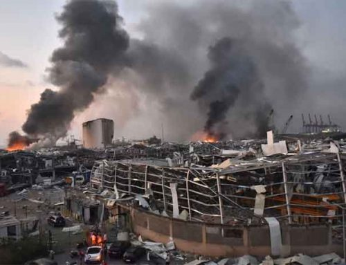 ACN Visits Lebanon Following Devastating Explosion That Destroyed Parts of Beirut.