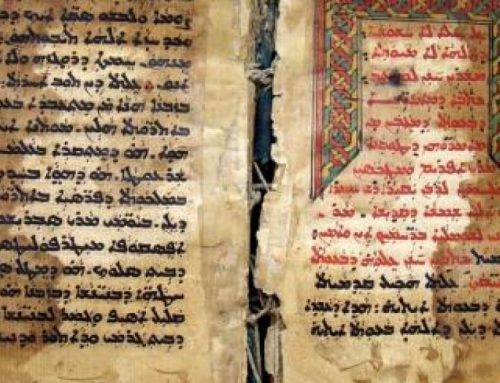 Iraq's sublime oriental Christian manuscripts safeguarded.