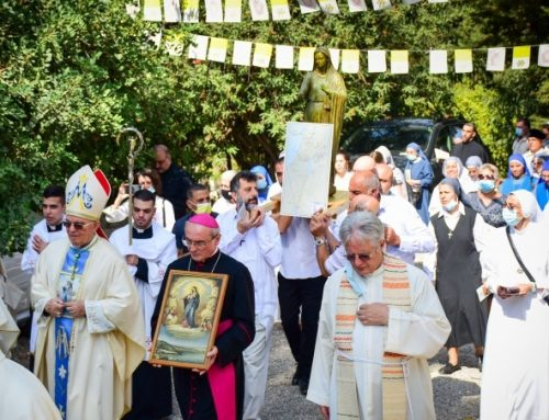 Centenary of consecration of Palestine to Virgin Mary.