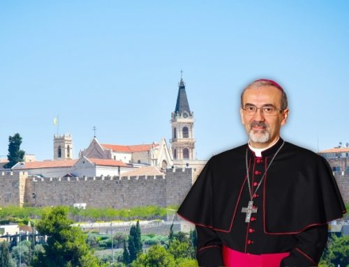 Archbishop Pierbattista Pizzaballa appointed Latin Patriarch of Jerusalem.