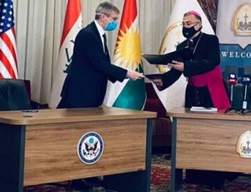 IRAQ – US funds to the charitable association for Christian refugees founded by Archbishop Warda.
