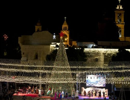Palestinians may limit Christmas celebrations in Bethlehem.