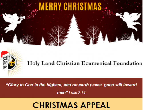 "HCEF Christmas Appeal       ""Glory to God in the highest, and on earth peace, good will toward men"" Luke 2:14"