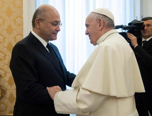 Pope's Iraq visit will inspire unity and peace, says leading bishop.
