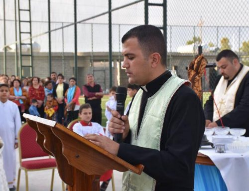 For Iraqi Christian youth, papal visit brings Church closer to home.