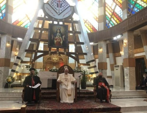Papal visit to Iraq: 'Hopefully this will motivate the international community to help'.