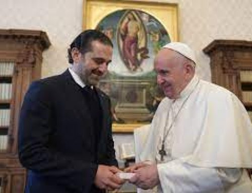 Pope expresses concern for Lebanon, repeats hope to visit the country.