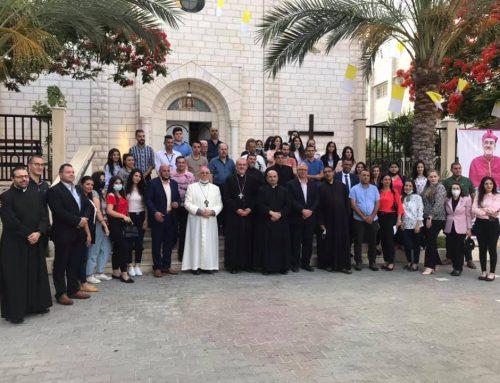 HB Patriarch Pierbattista Pizzaballa Visit To Gaza.