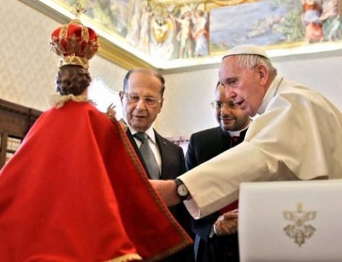 Pope Francis's commitment to a 'free and plural' Lebanon.