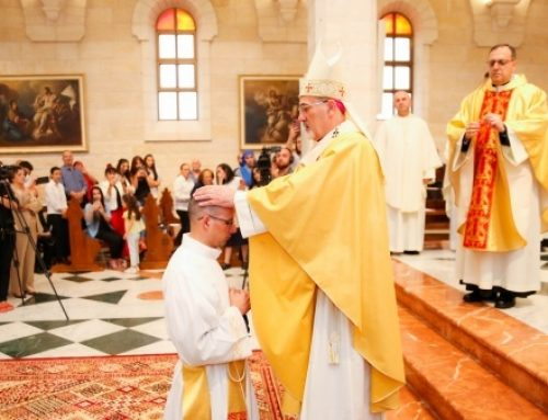 Priestly ordination and first Mass of Fr. Nadim Giacaman in Bethlehem.