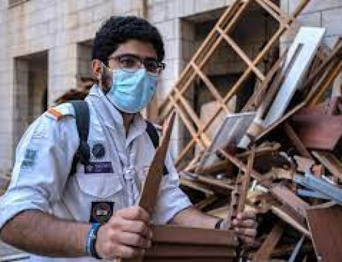 Nearly a year after Beirut blast, Maronite leaders still helping residents.