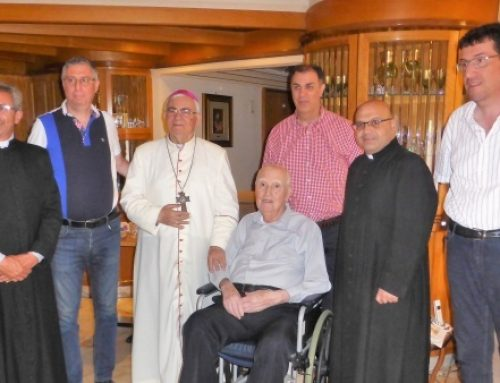 Latin Patriarchate celebrates World Day for Grandparents and the Elderly in Galilee.